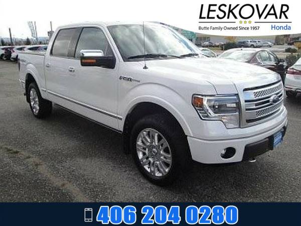 *2014* *Ford F150* *Crew Cab Pickup Platinum* *White*