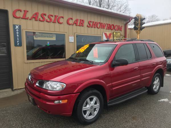 Finacing availalbe, 2003 Olds Bravada, AWD, LOADED, clean