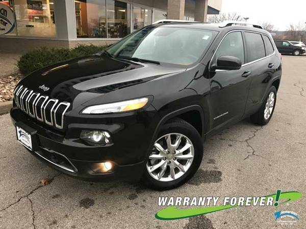 2014 *Jeep*Cherokee* Limited - GOOD OR BAD CREDIT OK!