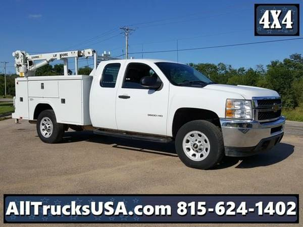 2012 *Chevrolet 3500HD 4X4* EXTENDED CAB 6.0L GAS 3200LB LIFTMOORE...