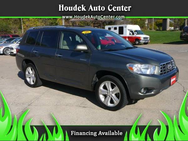 2009 Toyota Highlander Limited 4WD@DVD@MOONROOF@3RD ROW@EVERY OPTION@