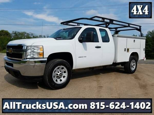 2012 *Chevrolet 2500HD 4X4* EXTENDED CAB 6.0L GAS AT READING UTILITY...