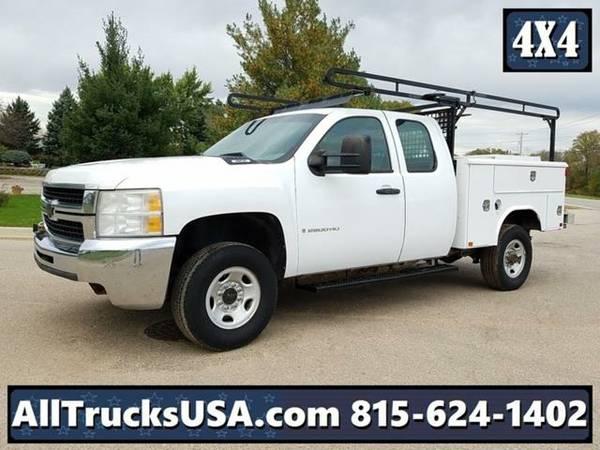 2009 *Chevrolet 2500HD 4X4* Service Truck (White)