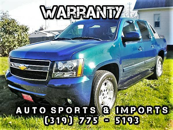 Amazing! Super Sharp! 2007 Chevy Avalanche LT - 4WD - XM Radio - Tow