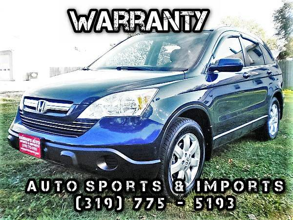 1 Owner! 2008 Honda CR-V EXL 4WD - Leather - Sunroof - XM Radio - NAVI