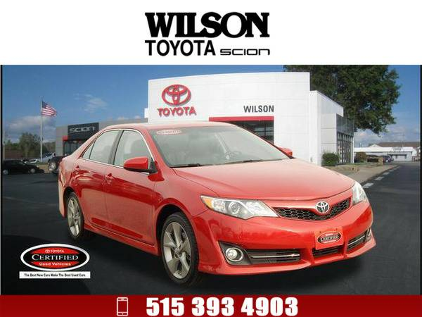 *2014* *Toyota Camry* *SE Sport* Red