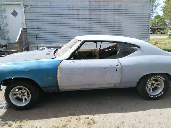 68 Chevelle 2 dr project car/trade