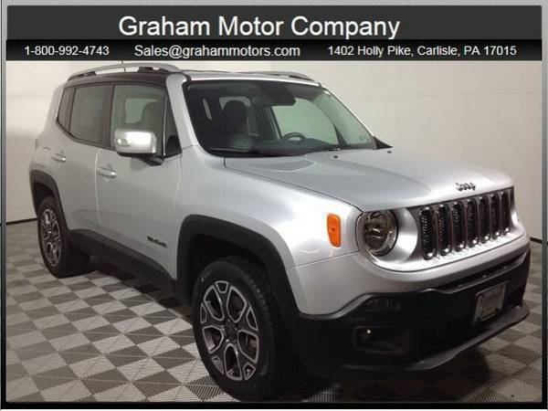 2016 *Jeep Renegade* Limited (Glacier Metallic)