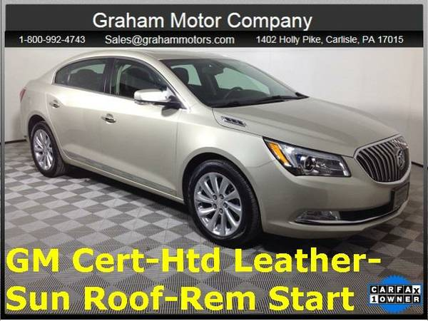 2016 *Buick LaCrosse* Leather Group (Sparkling Silver Metallic)