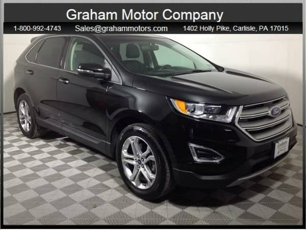 2015 *Ford Edge* Titanium (Tuxedo Black Metallic)