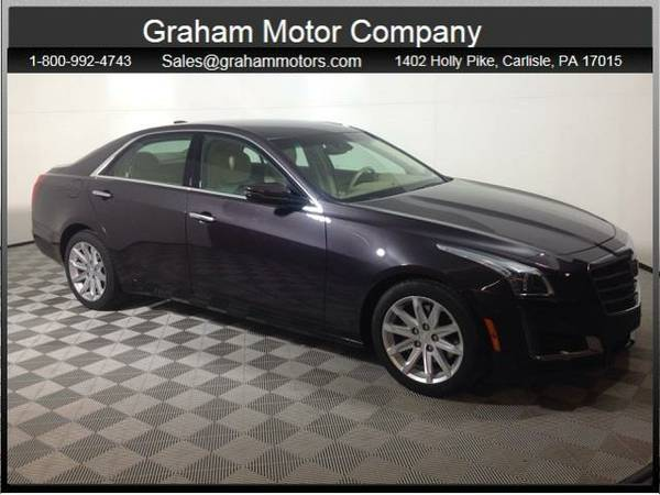 2015 *Cadillac CTS* 3.6L Luxury (Majestic Plum Metallic)