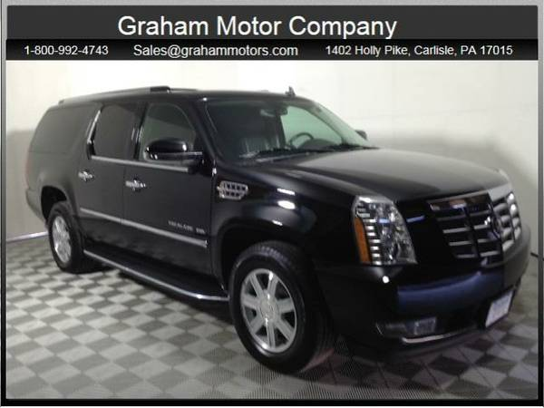 2010 *Cadillac Escalade ESV* Luxury (Black Raven)