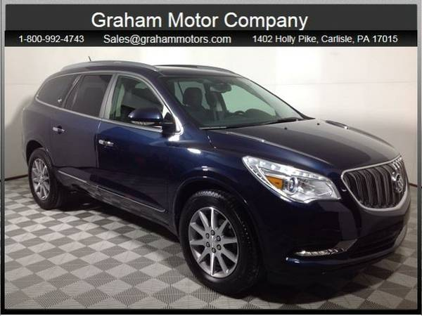 2016 *Buick Enclave* Leather Group (Dark Sapphire Blue Metallic)