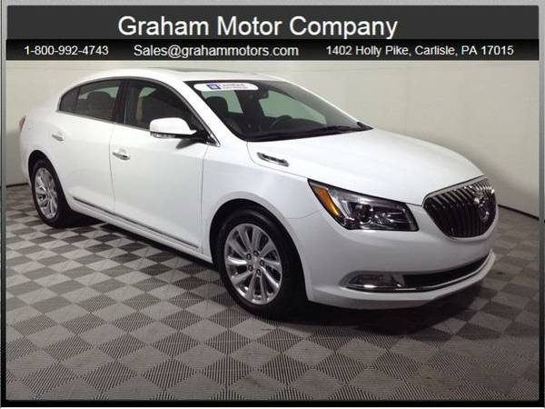 2016 *Buick LaCrosse* Leather Group (Summit White)