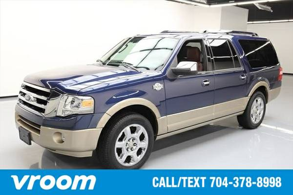 2013 Ford Expedition EL King Ranch 4dr SUV 7 DAY RETURN / 3000 CARS IN