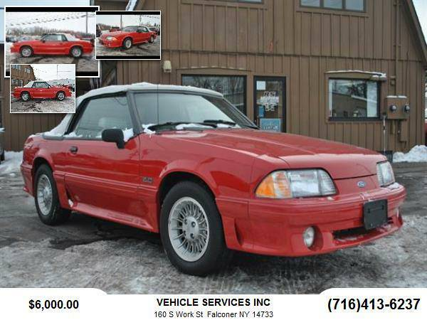 1990 Ford Mustang GT Convertible