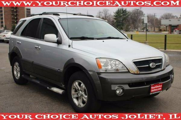 2006 *KIA**SORENTO* EX SUV LEATHER GOOD TIRES ALLOY CD 562374