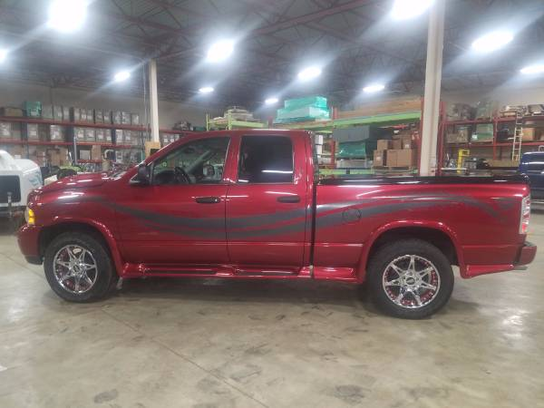 2004 Dodge Ram Quad Cab Pickup Truck with new engine