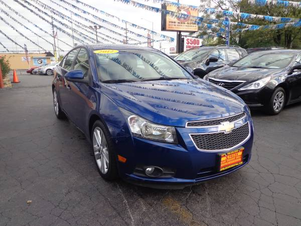 2012 Chevrolet Cruze.. DRIVE OUT TODAY!! WHY WAIT?!