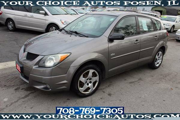 2004 *PONTIAC**VIBE*FWD WAGON GAS SAVER SUNROOF KEYLESS ENTRY 448712