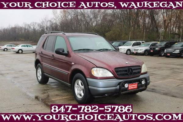 1998 *MERCEDES-BENZ**M-CLASS/* AWD ML320 SUV LEATHER 026860