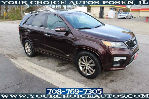 2011 *KIA**SORENTO* AWD SX SUV 3ROW LEATHER KEYLESS ENTRY 117623