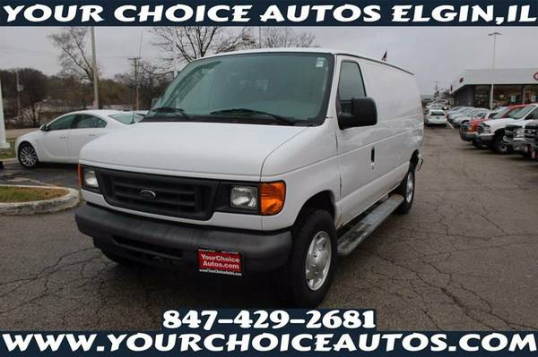 2007*FORD* *E-SERIES*CARGO VAN*E-250* WITH HUGE CARGO SPACE V8 A25287