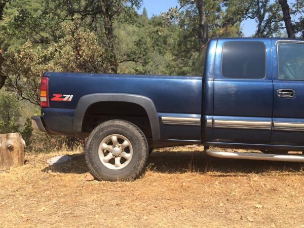2000 (wrecked )Chevy Silverado z71 4x4