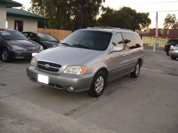 2005 KIA Sedona EX, With 3 Months free warranty