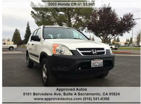 2003 HONDA CRV **CLEAN**MUST SEE**