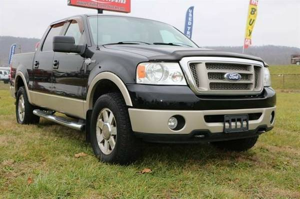 2007 Ford F150 SuperCrew Cab King Ranch Pickup 4D 5 1/2 ft...