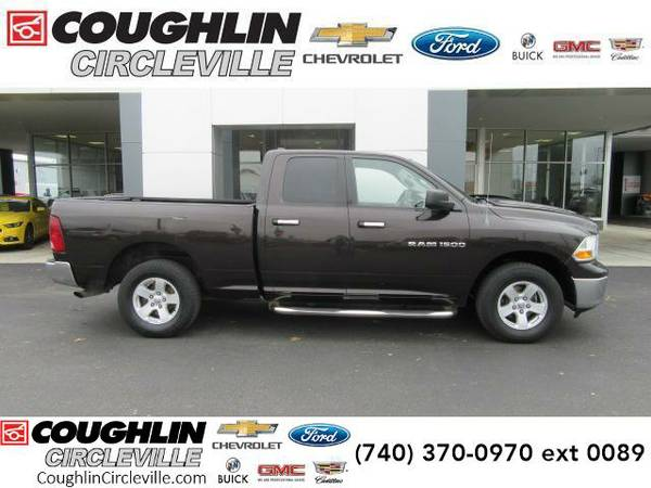 2011 *Ram 1500* 4WD Quad Cab 140.5 SLT (Rugged Brown Pearl)