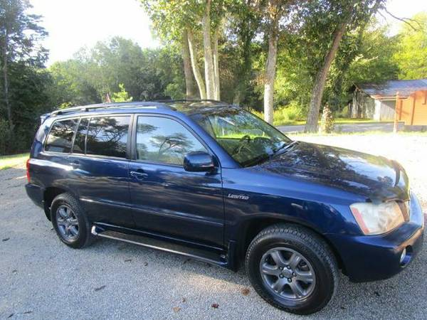 Just Reduced!!! 2003 Toyota Highlander Limited 4x4 Leather - 1 Owner