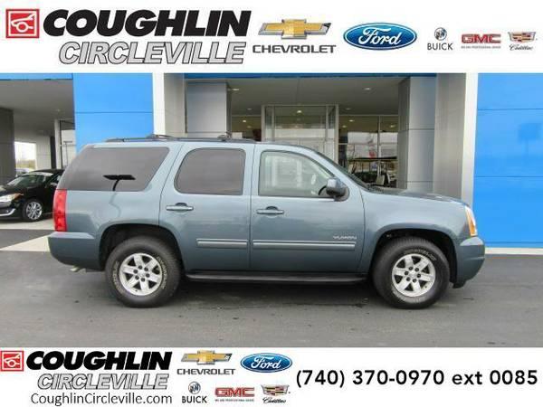 2010 *GMC Yukon* 2WD 4dr 1500 SLE (Storm Gray Metallic)