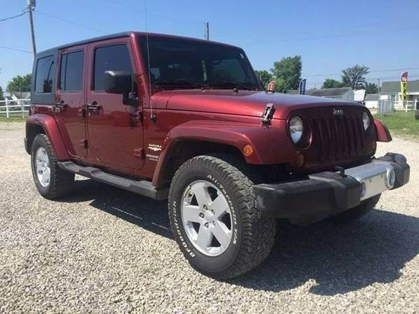 2008 Jeep Wrangler Unlimited Sahara Sport Utility 4D **Chillicothe...