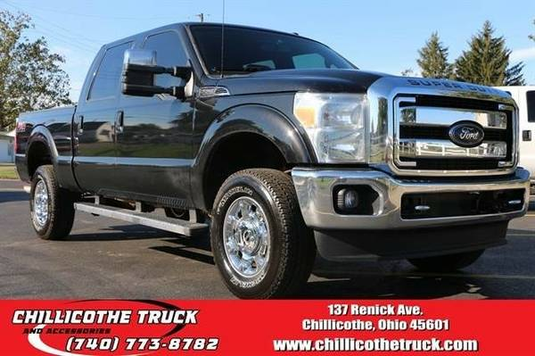 2015 Ford F350 Super Duty Crew Cab Lariat Pickup 4D 6 3/4 ft...