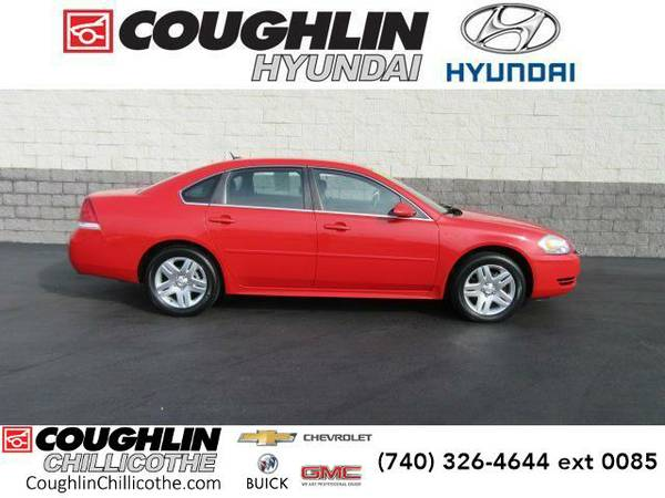 2013 *Chevrolet Impala* 4dr Sdn LT (Victory Red)