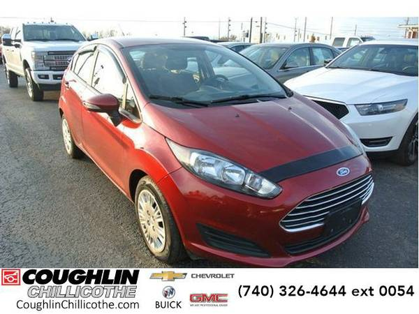 2015 *Ford Fiesta* 5dr HB SE (Ruby Red Metallic Tinted Clearcoat)