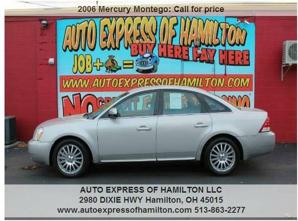 2006 Mercury Montego $299 Down+TAX BUY HERE PAY HERE