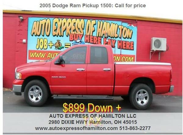 2005 Dodge Ram Pickup 1500 $899 Down+TAX BUY HERE PAY HERE