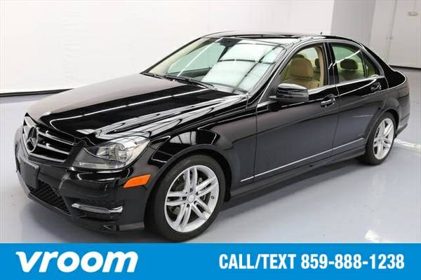 2014 Mercedes-Benz C-Class 7 DAY RETURN / 3000 CARS IN STOCK