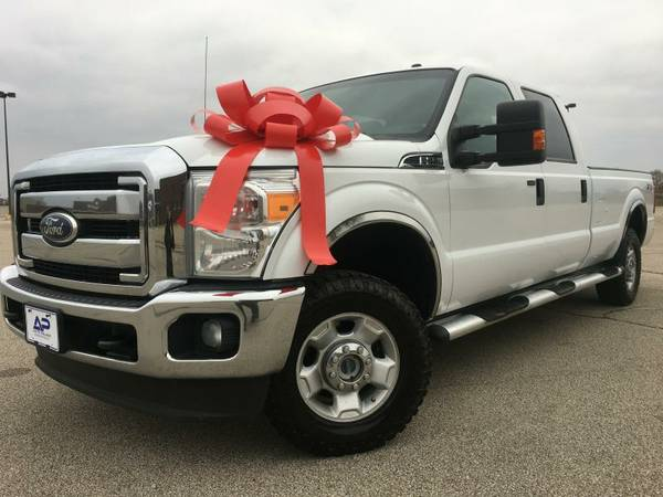 2011 Ford F250-4X4, Crew Cab, Long Bed, Gas Truck