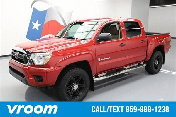 2014 Toyota Tacoma 4x2 PreRunner 4dr Double Cab 5.0 ft SB 4A 7 DAY RET