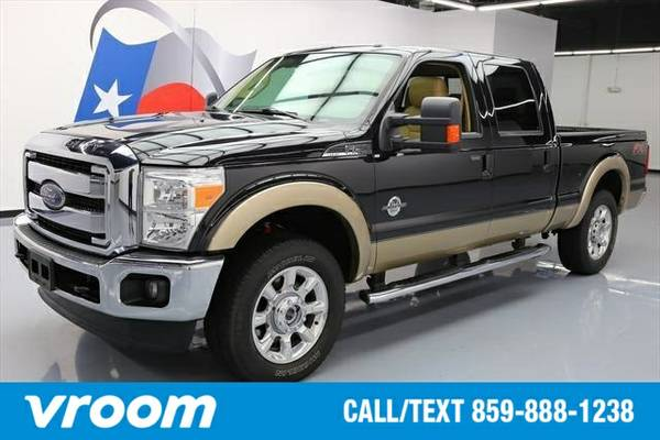 2014 Ford F-250 Lariat 4dr Crew Cab 4WD 7 DAY RETURN / 3000 CARS IN ST