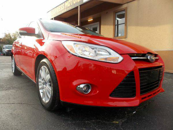 2012 *Ford* *Focus* SEL Sedan - GET APPROVED TODAY!