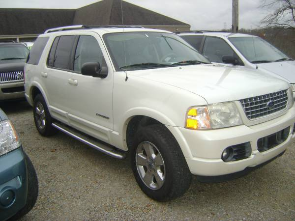 2004 ford explorer limited awd