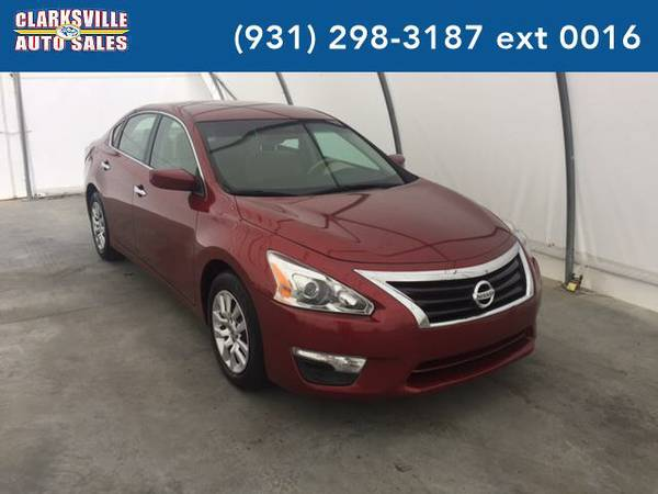 2014 *Nissan Altima* 2.5 SV 4dr Sedan (RED)