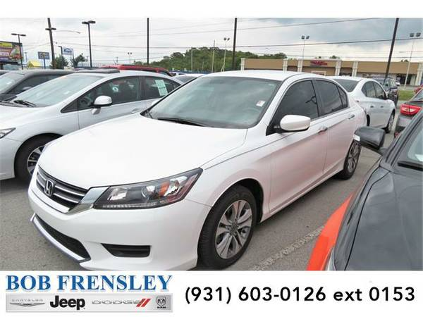 2015 *Honda Accord* LX (White Orchid Pearl)