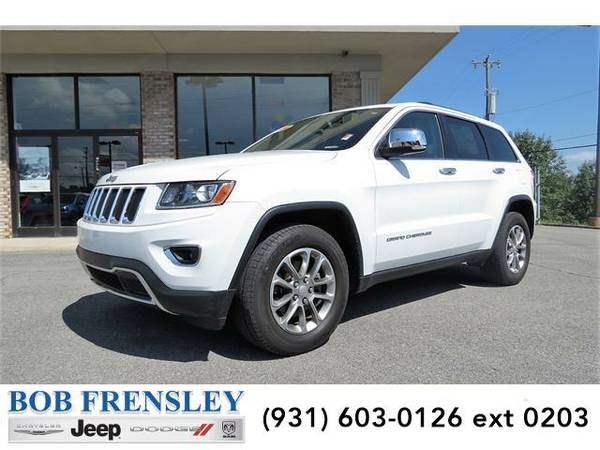 2015 *Jeep Grand Cherokee* Limited 4x2 (Bright White)