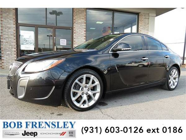 2012 *Buick Regal* GS (Carbon Black)